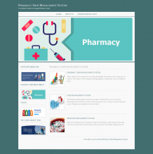 Java, JSP and MySQL Project on Pharmacy Shop Management System
