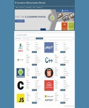 Online E-Learning Portal