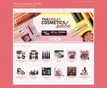 Java, JSP and MySQL Project on Online Cosmetic Store
