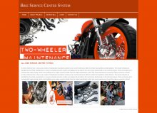 PHP and MySQL Project on Bike Service Center Management System