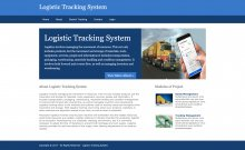 Python, Django and MySQL Project on Logistic Tracking System