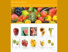 PHP and MySQL Project on Fruit Selling Website