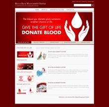 Java, JSP and MySQL Project in Blood Bank Management System