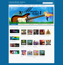 Online Music Portal Project in Java, JSP and MySQL