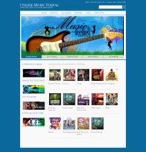 Online Music Portal Project in Java, JSP and MySQL