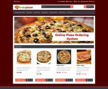 PHP and MySQL Project on Online Pizza Ordering System
