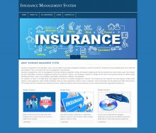 PHP and MySQL Project on Insurance Management System
