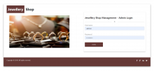 NodeJS, AngularJS and MySQL Project on Jewellery Shop Management System