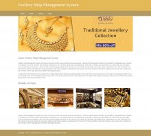 Python, Django and MySQL Project on Jewellery Shop Management System