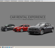 C# Windows Application in Car Rental System