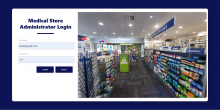 Medical Store Management System Spring Boot Project