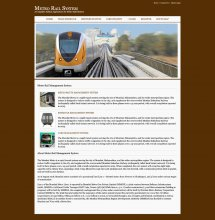 Java, JSP and MySQL Project on Metro Rail Management System