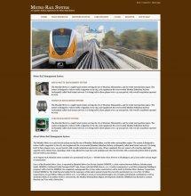 Java, JSP and MySQL Project on Metro Rail Management System