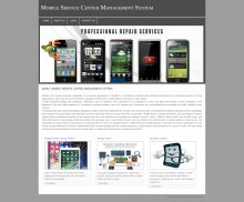 PHP and MySQL Project on Mobile Service Center Management System