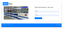 NodeJS, AngularJS and MySQL Project on Mobile Shop Management System