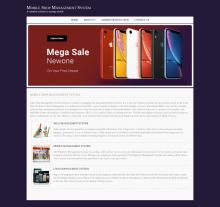 Java, JSP and MySQL Project on Mobile Shop Management System