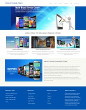 Python Django and MySQL Project on Online Mobile Store