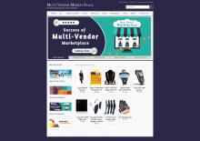 Java, JSP and MySQL Project on Multi Vendor Market Place