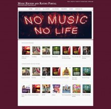 Java, JSP and MySQL Project on Music Review and Rating Portal