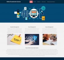 PHP and MySQL Project on Online Examination System