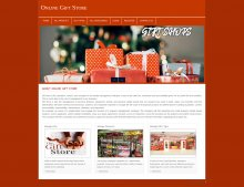 PHP and MySQL Project on Online Gift Store