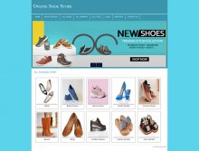 PHP and MySQL Mini Project on Online Shoe Store
