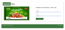NodeJS, AngularJS and MySQL Project on Vegetable Store Management System