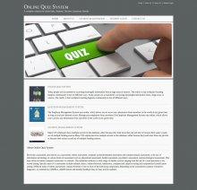 Java, JSP and MySQL Project on Online Quiz System