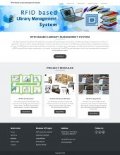 RFID IOT Based Library Management System
