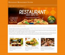 PHP and MySQL Project on Restaurant Management System