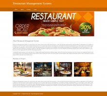 Python, Django and MySQL Project on Restaurant Management System