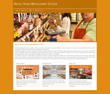 PHP and MySQL Project on Retail Store Management System