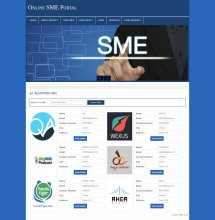 PHP and MySQL Project on Online SME Portal