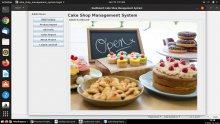 Java and MySQL Project on Cake Shop Management System