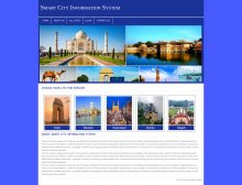 PHP and MySQL Project on Smart City Information System