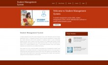 Python, Django and MySQL Project on Student Management System
