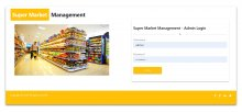 NodeJS, AngularJS and MySQL Project on Super Market Management System