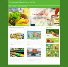 Supermarket Management System