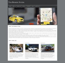 PHP and MySQL Project on Taxi Booking System