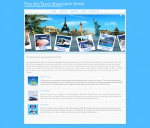 Java, JSP and MySQL Project on Tour And Travel Booking System