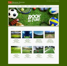 Java, JSP and MySQL Project Project on Turf Booking System