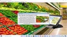 C# Windows Application in Vegetable Store Management System