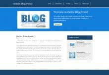 Python, Django and MySQL Project on Online Blog Portal