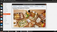 Java and MySQL Project on Canteen Management System