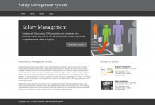 Python, Django and MySQL Project on Salary Management System