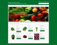C#, ASP and MySQL Project on Online Vegetable Store