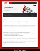 PHP & MySQL Project on Content Management System