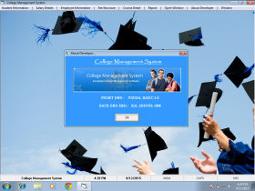 Visual Basic and SQL Server 2000 Project on College Management System