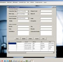 VB.net Windows Application Project on Electricity Billing System
