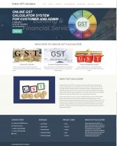PHP and MySQL Project on Online GST Calculator